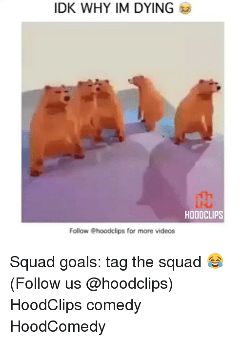 Funny, Im-Dying, and Hoodcomedy: IDK WHY IM DYING  HOODCLIPS  Follow @hoodclips for more videos Squad goals: tag the squad 😂 (Follow us @hoodclips) HoodClips comedy HoodComedy