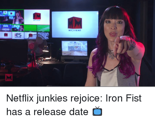 Funny Netflix  Dating  and      Memes of      on SIZZLE Sizzle Dating  Ironic  and Memes  ies MACHINIMA Netflix junkies rejoice  Iron Fist has