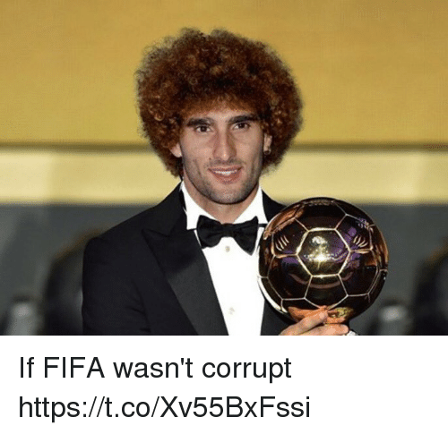 Fifa, Soccer, and Https: If FIFA wasn't corrupt https://t.co/Xv55BxFssi