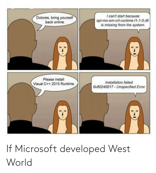 west world: If Microsoft developed West World