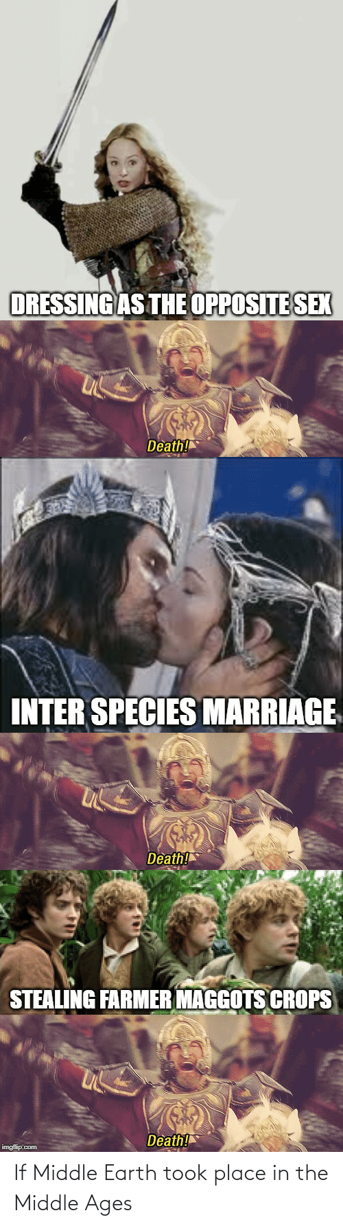 middle ages: If Middle Earth took place in the Middle Ages