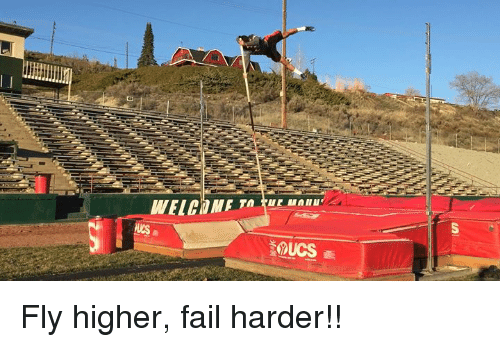 Memes and 🤖: IF TA rue Manure  s  iQUCS画  us Fly higher, fail harder!!