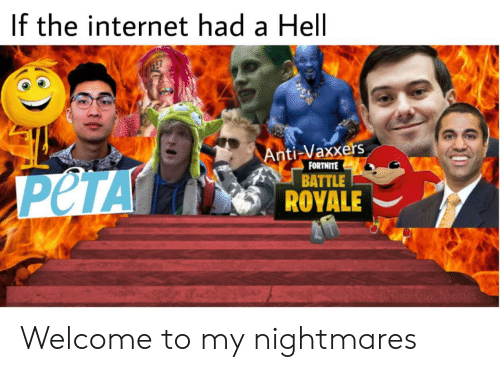 Battle Royale: If the internet had a Hell  Anti-Vaxxers  BATTLE  ROYALE  FORTNITE Welcome to my nightmares