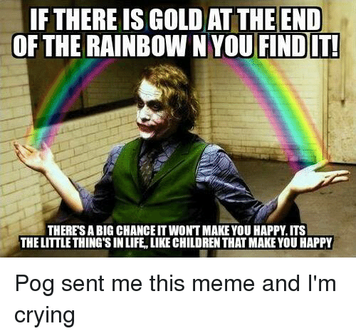 Funny Rainbow Meme : Funny rainbow memes of on sizzle you tried it