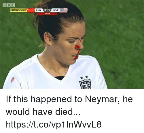 Neymar, This, and Happened: If this happened to Neymar, he would have died... https://t.co/vp1lnWvvL8