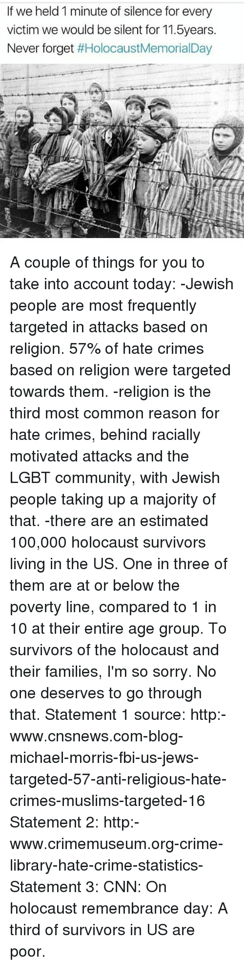 the holocaust the biggest hate crime in Tragically, american jews continue to be the largest target of religious-based hate crimes in the united states just this week, facebook and zuckerberg himself were subject to another online anti.