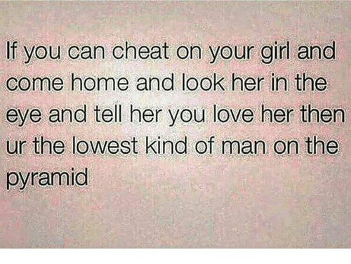 how to tell if your girlfriend would cheat on you
