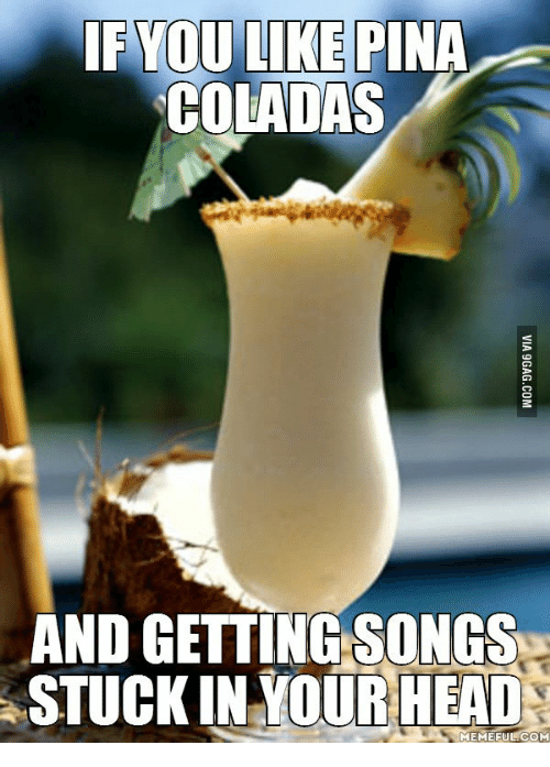 pina collada song Song: pina colada english translation pina colada what a summer the paint is running off the walls the mercury is upset i feel jitters in my belly what a.