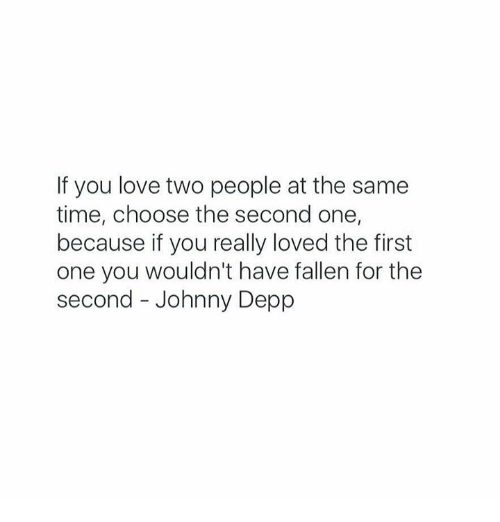 in love with two people how to choose