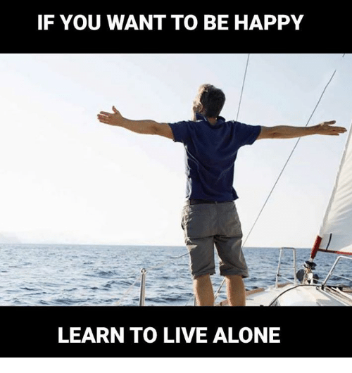 How to learn to live alone - Quora