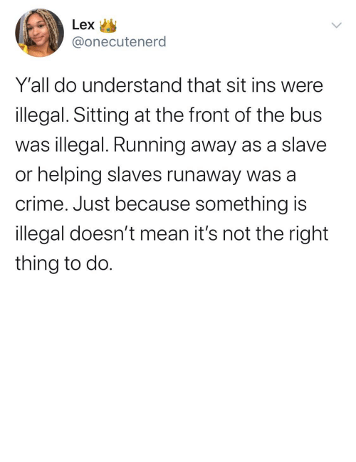 ethical: If you want to face yourself in the mirror it's best if you do the moral and ethical thing (via /r/BlackPeopleTwitter)