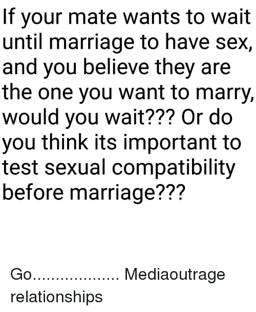 Pre marriage compatibility test