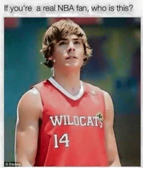 nba-fan: If you're a real NBA fan, who is this?  WILDCAT  14  O D