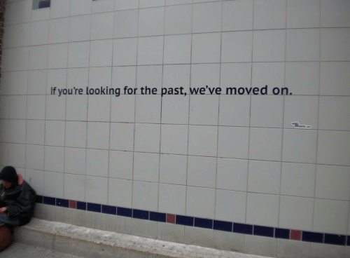 Moved On: If you're looking for the past, we've moved on.  werds.cen