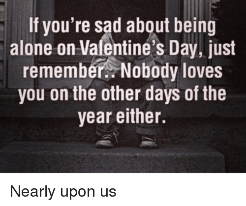 if you're spending valentine day alone meme - Funny Being Alone and Valentine s Day Memes of 2017 on SIZZLE