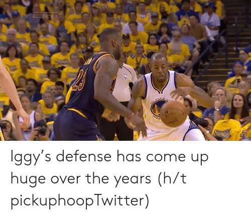 Iggy: Iggy's defense has come up huge over the years   (h/t pickuphoopTwitter)