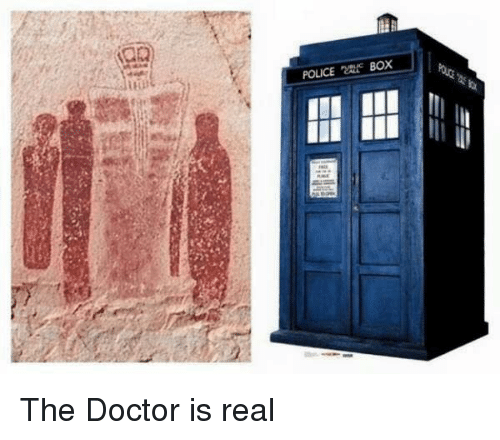 police box: iiit  POLICE Box  籗 The Doctor is real