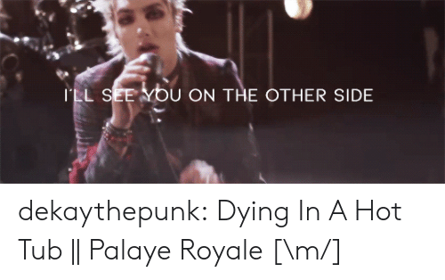 hot tub: ILL S  ON THE OTHER SIDE dekaythepunk: Dying In A Hot Tub || Palaye Royale [\m/]