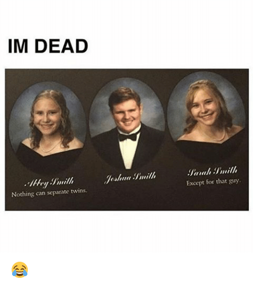 Memes, Twins, and 🤖: IM DEAD  Nothing can separate twins  Except for that guy. 😂