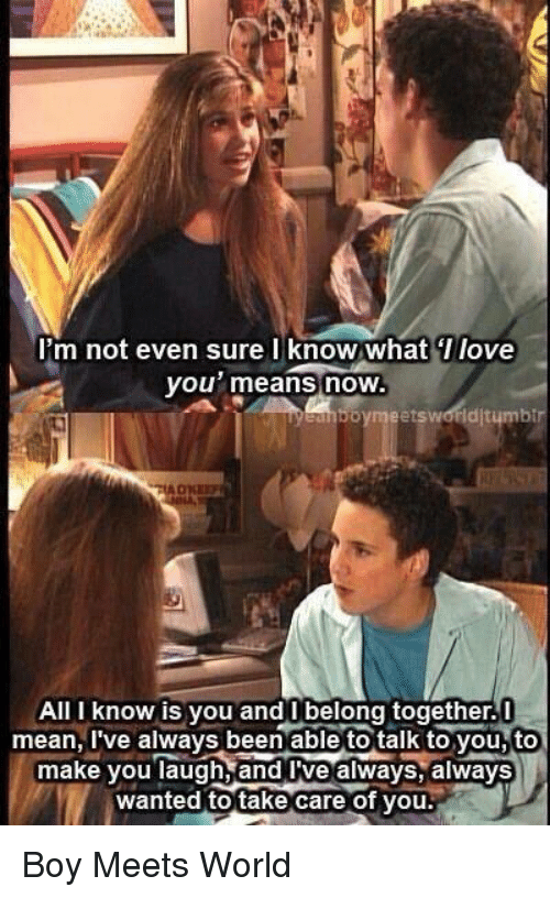 boy meets world love meme Haha love boy meets world this is how it felt the past couple of days in most of the us haha love boy meets world.