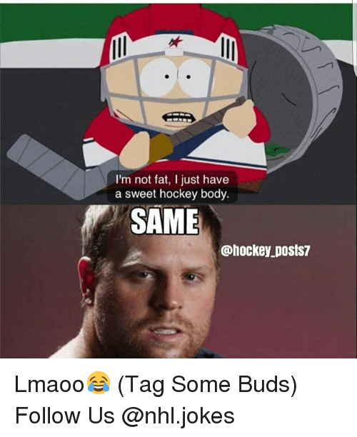 Im Not Fat: I'm not fat, I just have  a sweet hockey body.  SAME  @hockey posts/ Lmaoo😂 (Tag Some Buds) Follow Us @nhl.jokes