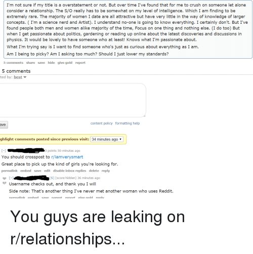 Reddit give up on online dating
