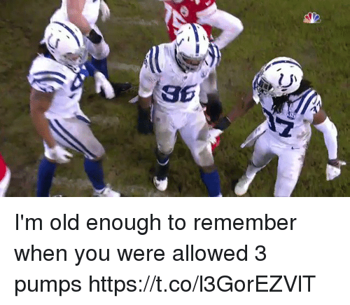 Im Old: I'm old enough to remember when you were allowed 3 pumps  https://t.co/l3GorEZVlT