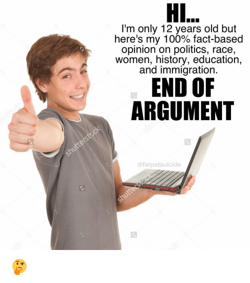 fact based argument