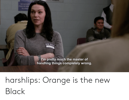 Orange Is the New Black: I'm pretty much the master of  handling things completely wrong. harshlips:  Orange is the new Black