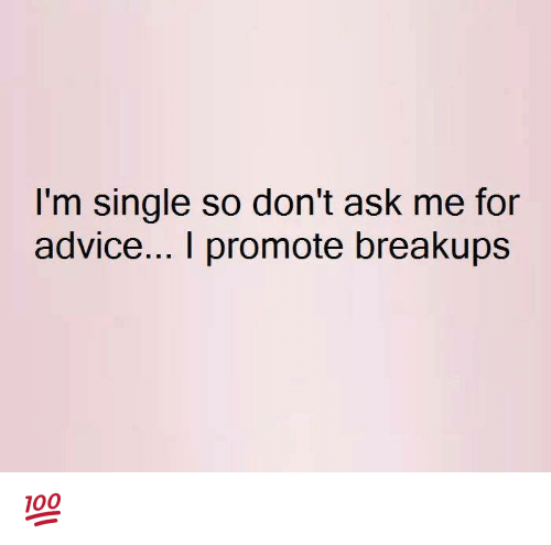 Single advice
