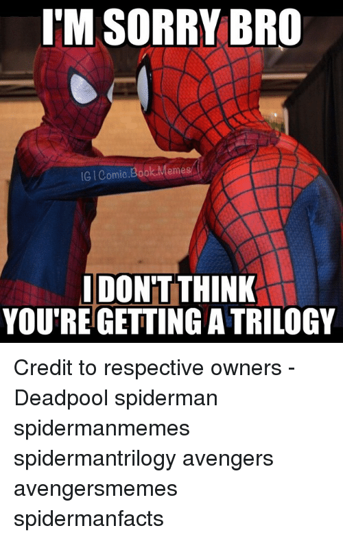 Funny I M Sorry Meme : Funny spiderman memes of on sizzle spidermane