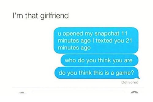 Do You Think This Is A Game I'm That Girlfriend U ...
