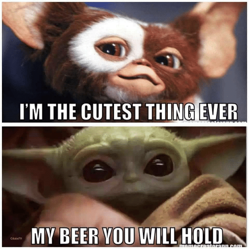 cutest: I'M THE CUTEST THING EVER  MY BEER YOU WILL HOLD  Cdubs711  momecretoronn.com