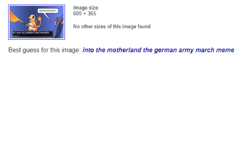 Into The Motherland The German Army March: Image size  600 365  No other sizes of this image found.  HE LENRNED  Best guess for this image: into the motherland the german army march meme