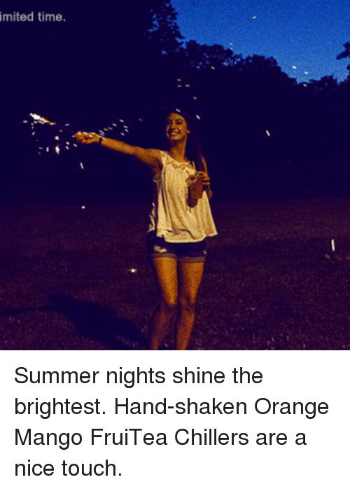 Looks to Shine at Night in Summer