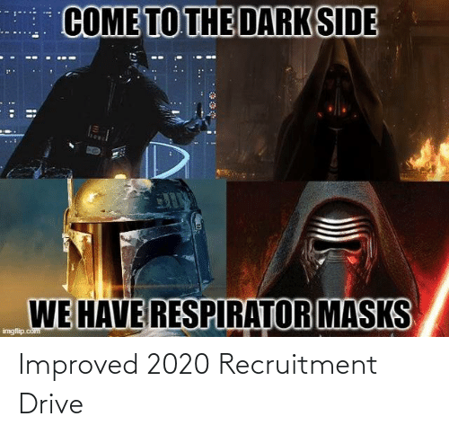 Drive: Improved 2020 Recruitment Drive