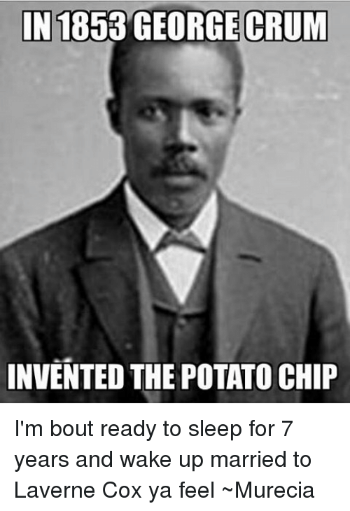 Who invented potato chips?