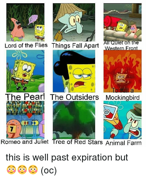 lord of the flies fall of