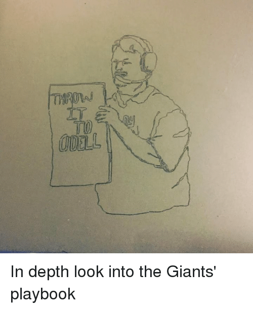 Nfl, Depth, and Playbook: In depth look into the Giants' playbook