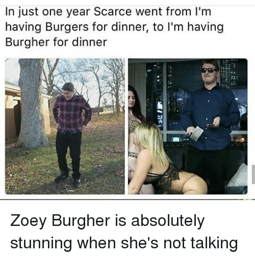 in just one year scarce went from lm having burgers 9775240 search scarce memes on me me