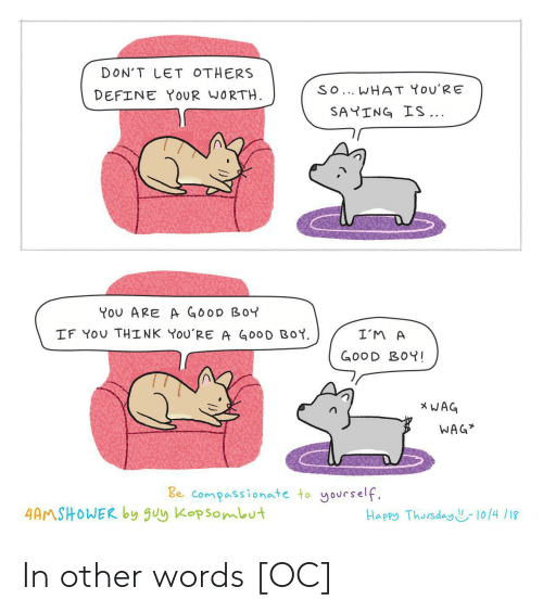 in other words: In other words [OC]