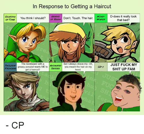 Search Zelda Link Memes on me.me Zelda In Response To Being Told