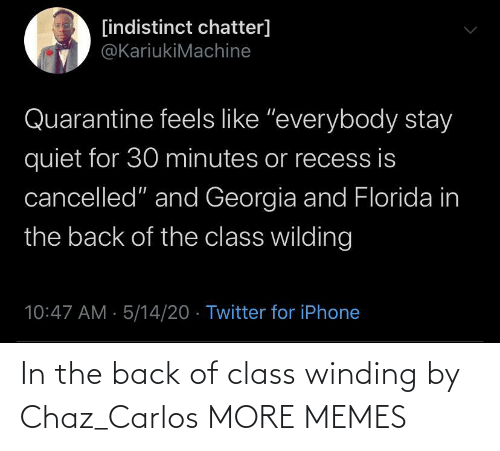 winding: In the back of class winding by Chaz_Carlos MORE MEMES