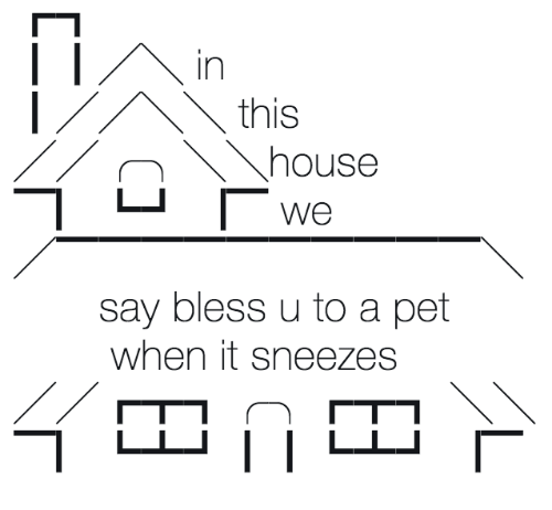 sneezes: In  this  We  say bless u to a pet  when it sneezes