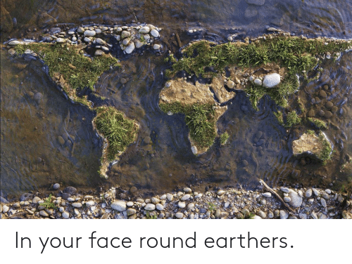 your face: In your face round earthers.