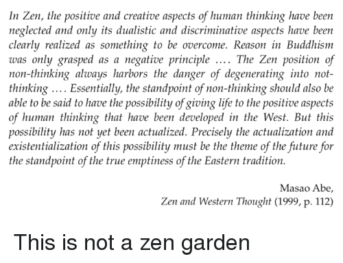 the zen principles in relation to the zen garden Applied zen meditation & core  are you in right relation 5) where is  do you readily accept without question established cultural principles, passing.