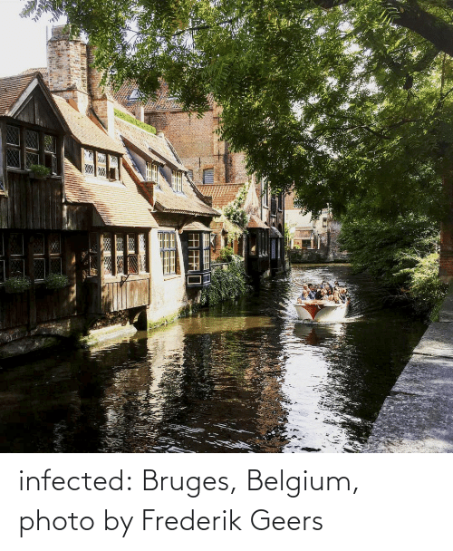 Belgium: infected:   Bruges, Belgium, photo by Frederik Geers