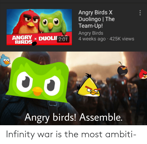 War Is: Infinity war is the most ambiti-