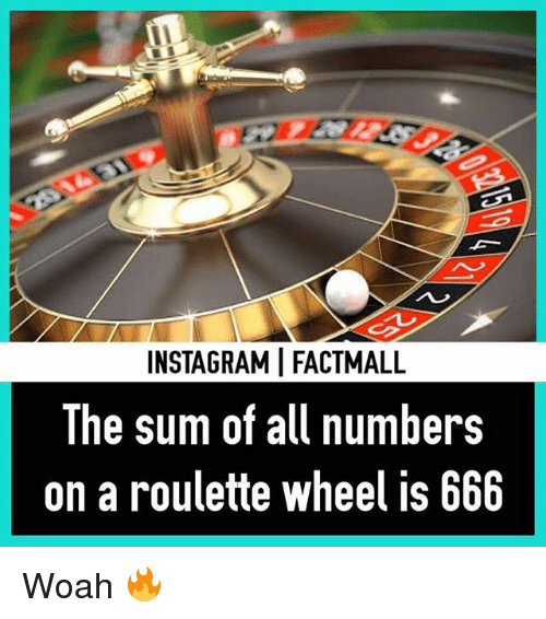 666 on a roulette wheel crossword clue