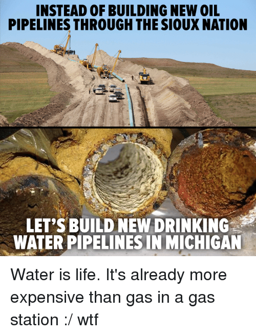 Sioux Nation Drinking Water